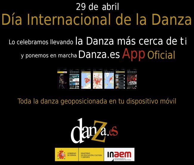 Danza.es launches its official App for Android and IOS
