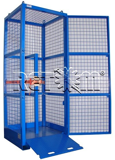Pallet / container security to 12 bottles RETOM model R-PS12/50L